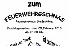Gschnas2013_Plakat